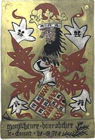 Henry Bourchier, 1st Earl of Essex - Image: Garter Plate Henry Bourchier 1st Earl Of Essex