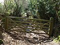 Gate on Chudleigh Bridleway 3 - geograph.org.uk - 750119.jpg