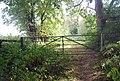 Gate on the Tunbridge Wells Circular Path near Langton Green - geograph.org.uk - 1493334.jpg