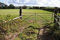 Gateway to a field off the A4139 - geograph.org.uk - 2607249.jpg