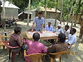 Gathering in a meeting of villagers in an Bangladeshi village 2015 32.jpg