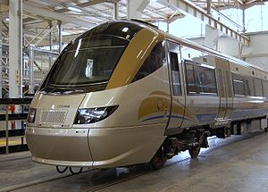 Gautrain - An Electrostar in the depot