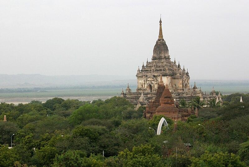 Wonderful Places In Asia Gawdawpalin Temple Bagan