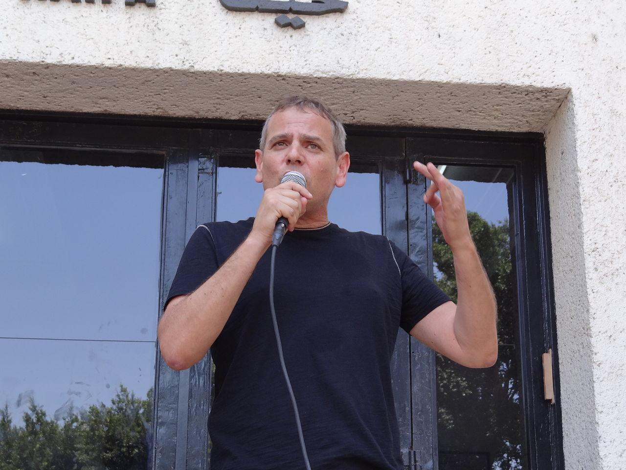 Gay Pride in Haifa 2014 - Nitzan Horowitz (7).JPG