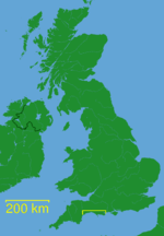 Location within the United Kingdom