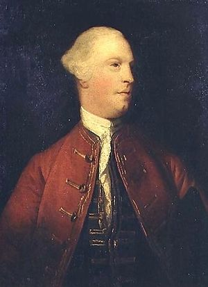 48th (Northamptonshire) Regiment of Foot - General James Cholmondeley, founder of the regiment, by Sir Joshua Reynolds