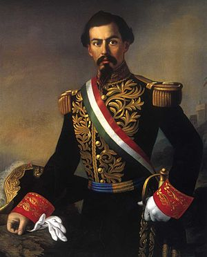 Reform War - General Miguel Miramón