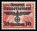Generalgouvernement 1940 30 Aufdruck auf 348.jpg