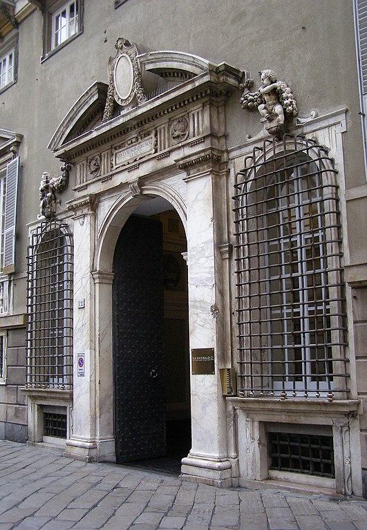 Palazzo Campanella à Gênes - Photo d'Andrzej Otrębski
