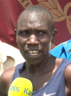 Geoffrey Kipsang Kamworor Kenyan long-distance runner