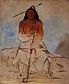 George Catlin - Ah-sháw-wah-róoks-te, Medicine Horse, a Grand Pawnee Brave - 1985.66.101 - Smithsonian American Art Museum.jpg