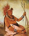 George Catlin - Wos-cóm-mun, Busy Man, a Brave - 1985.66.260 - Smithsonian American Art Museum.jpg