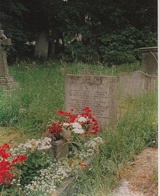 George Evans (VC) - George Evans grave at Beckenham Cemetery