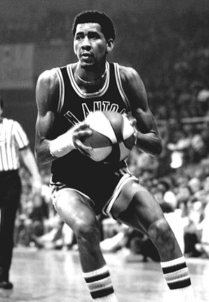 George Gervin - Gervin as a member of the San Antonio Spurs in the American Basketball Association.