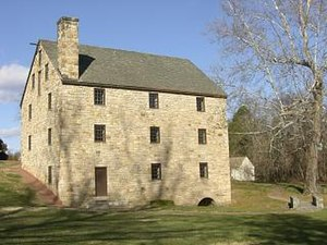 George Washington's Gristmill - Reconstruction of Washington's Gristmill