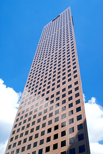Georgia-Pacific Tower - Image: Georgia Pacific Tower Front Angle