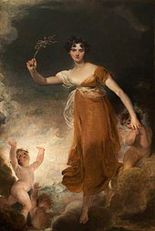 young woman holding a sprig of leaves