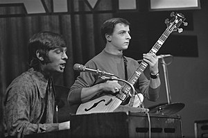 Georgie Fame - Georgie Fame and Rick Brown (bass) (Amsterdam, October 1966)