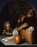 Gerard Dou - Still Life with a Boy Blowing Soap-bubbles - Google Art Project.jpg