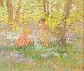 Gertrude Des Clayes children gathering bluebells.jpg