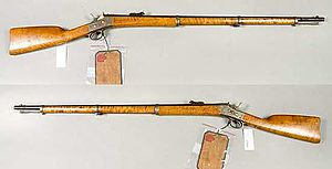Remington M1867 - Image: Gevär m 1867 74 modellexemplar 12,17 mm Armémuseum
