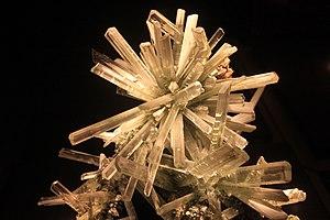 Selenite (mineral) - Columnar crystal habit