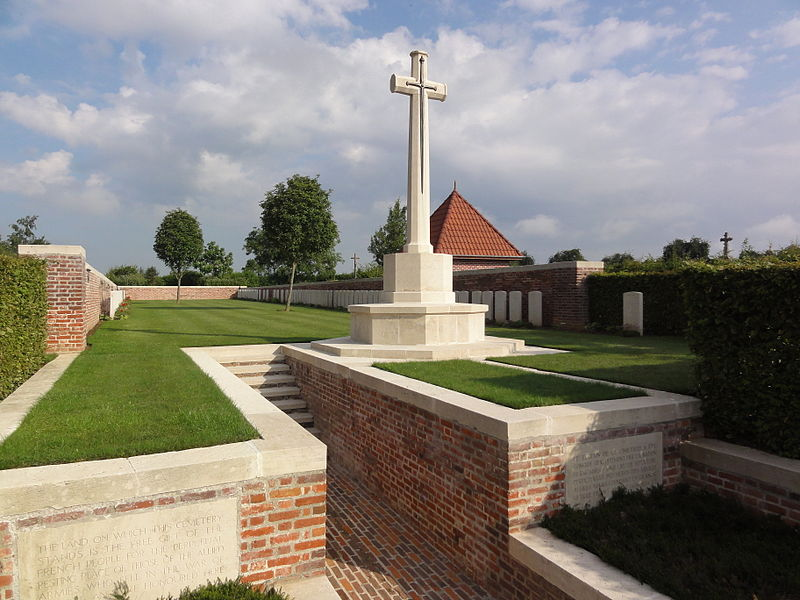 Ghissignies (Nord, Fr) Ghissignies British Cemetery CWGC