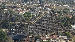 GhostRider (roller coaster) roller coaster