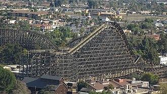GhostRider (roller coaster) - Image: Ghostrider 2