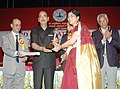 Ghulam Nabi Azad presented the ICMR awards to distinguished scientists, at a function, in New Delhi on September 24, 2013. The Secretary, Ministry of Health & Family Welfare, Shri Keshav Desiraju is also seen.jpg