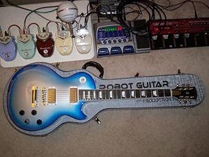 Gibson Robot Guitar - Image: Gibson Robot Guitar