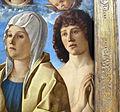 Giovanni bellini, madonna col bambino tra i ss. pietro e sebastiano, 1487 ca., 04.JPG