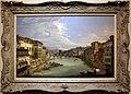 Giovanni signorini, veduta di firenze con il fiume arno da ponte vecchio verso ponte alle grazie, 1850 ca., 01.jpg