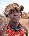 Girl, Dassanech Tribe (15050381088).jpg