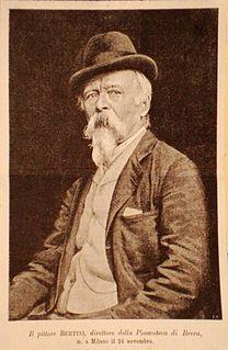 Giuseppe Bertini Italian painter