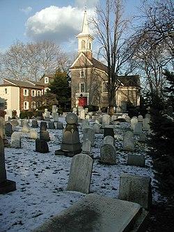 Gloria Dei (ancienne église suédoise), Queen Village, sud de Philadelphie