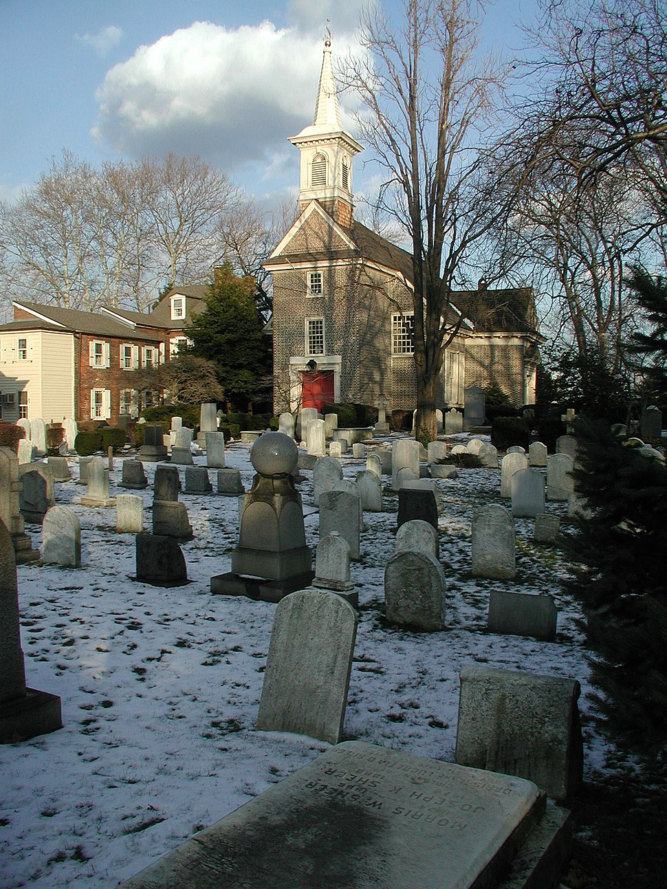 Gloria Dei (Old Swedes') Church, Queen Village, South Philadelphia