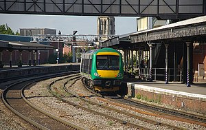 London Midland - 170511 at Gloucester.