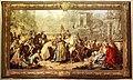 Gobelins, su dis. di jean-françois de troy e pierre-josse perrot, trionfo di mardocheo, 1738-50.jpg