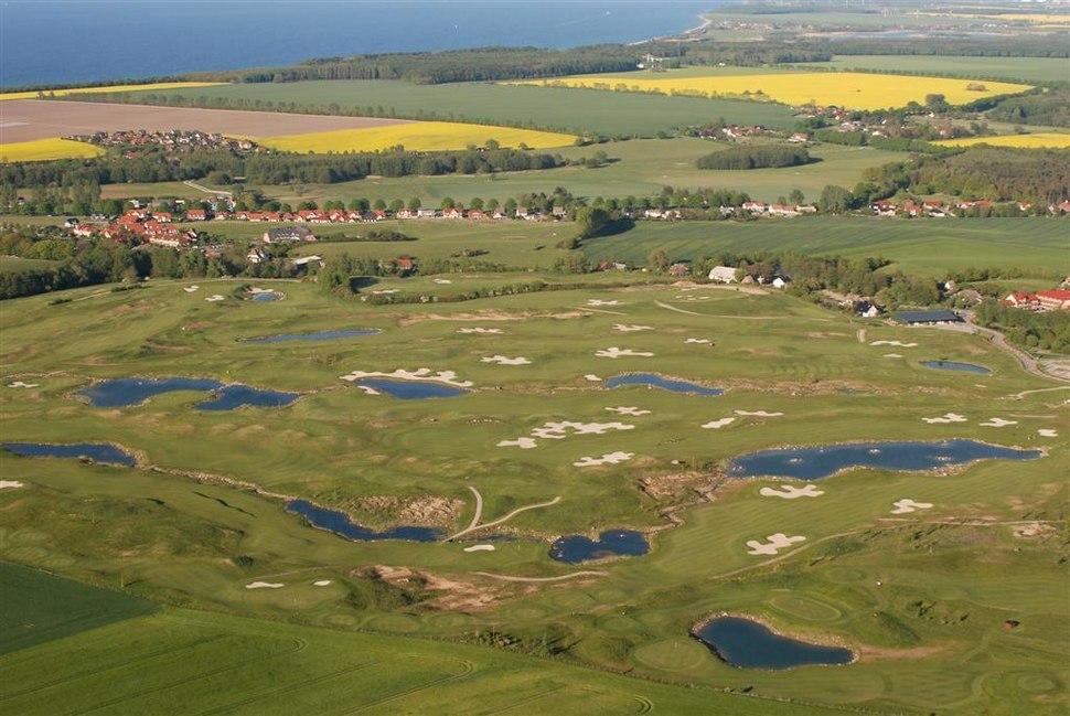 Golf course Golfplatz Wittenbeck Mecklenburg Ostsee Baltic Sea Germany