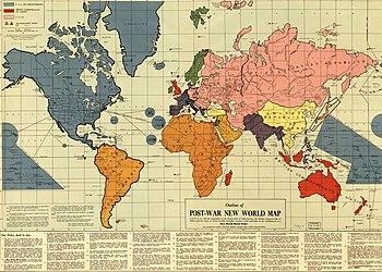 English: Maurice Gomberg's Post-War New World ...
