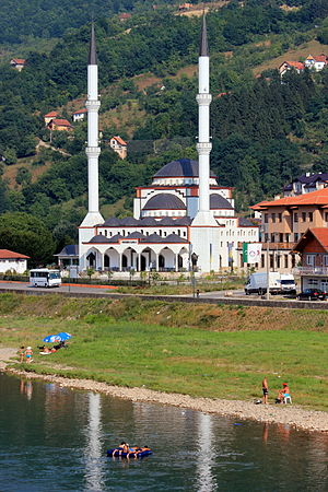 Goražde - Mosque in Goražde