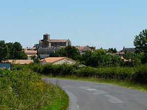Gourgé - A general view of Gourgé