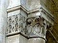 Gournay-en-Bray (76), collégiale St-Hildevert, nef, chapiteaux du 4e pilier libre du sud, côté ouest.jpg