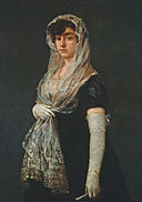 Goya - Young Lady Wearing a Mantilla and Basquina.jpg