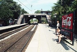 Station Grøndal in 1999