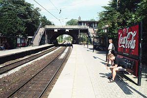 Grøndal station - Image: Grøndal Station, Copenhagen (1999)