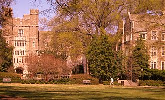 Graduate School of Duke University - Graduate School Quad.