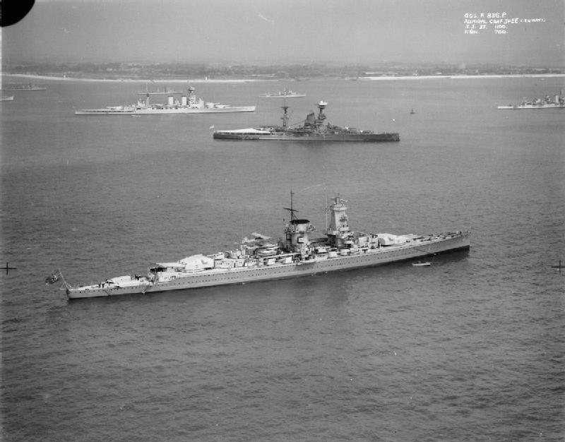 Graf Spee at Spithead
