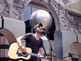 Colton tocando en vivo el 17 de junio de 2005 en City Stages en Birmingham, Alabama.